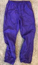 Obermeyer Men's Purple Snowpants Sz L Large Wind Pants - $19.79