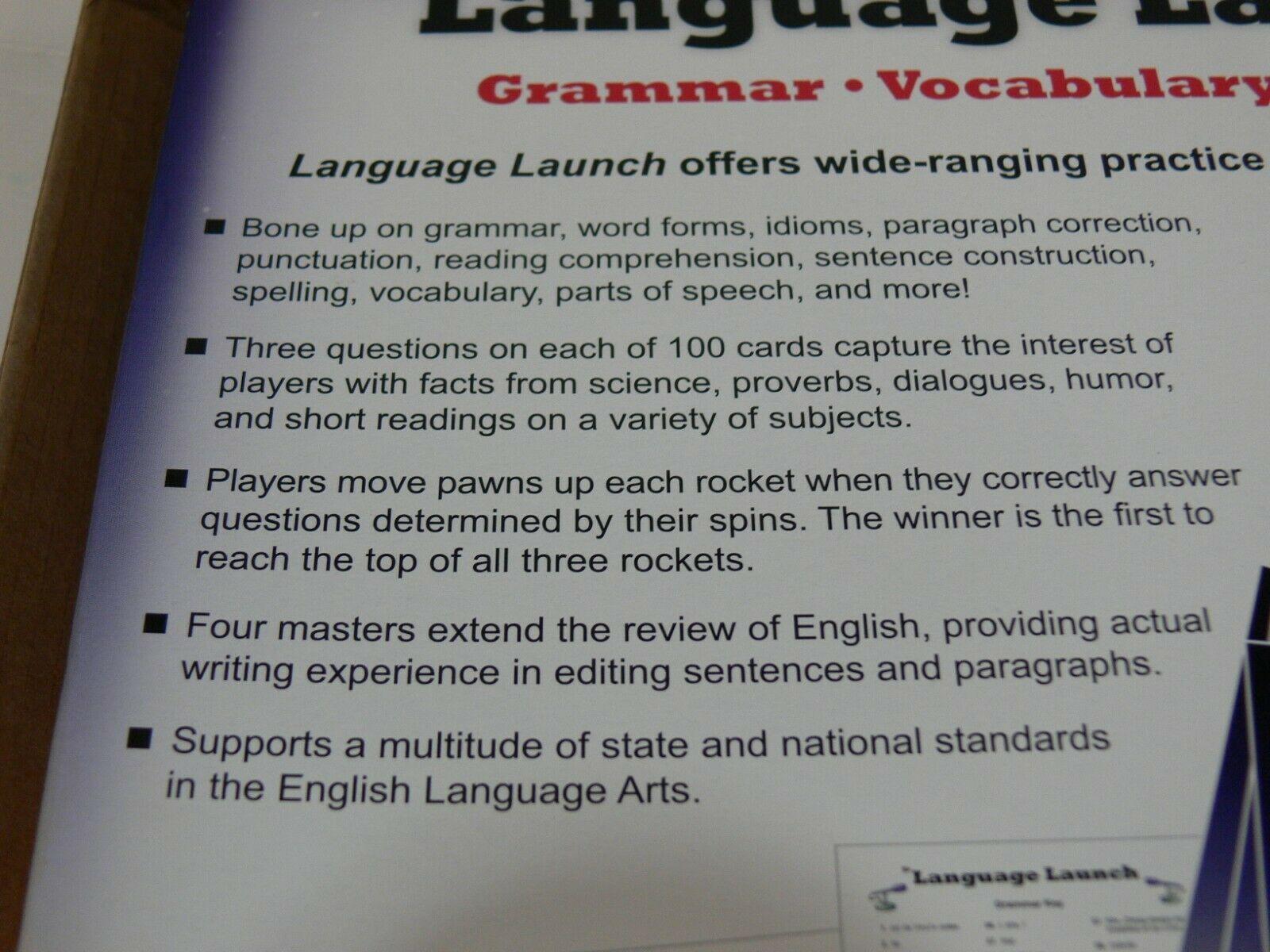 Language Launch Rocket Educational Game - ELL ESL Grammar Vocabulary Writing ek image 4