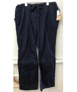 Koi 601T Men's TALL James Pant Medical Uniforms Scrubs Navy Blue size XL - $28.95