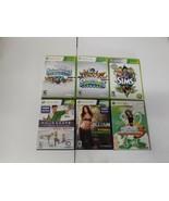 LOT 6 XBOX 360 Skylanders Sims Dance 3 Your shape Jillian  - $29.40