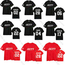 KPOP GOT7 Tshirt T-shirt Tee New Fly Concert Bambam Mark Youngjae Jackso... - $12.07