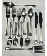 Cambridge Codie Frosted Flatware Lot - $34.64