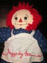 "Dakin Raggedy Ann 85th Anniversary 17"" Plush STUFFED DOLL Toy. Scratches... - $7.19"
