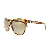 Versace Women Cat Eye Sunglasses VE4281A 511913 Havana Frame Brown Gradient Lens - $115.03