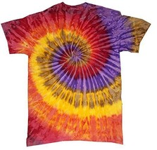Multi-color Festival Tie Dye T-SHIRT Mens Womens Size M L Xl 2X 3X - $14.84+
