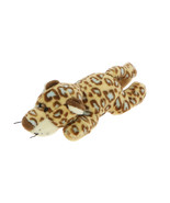 MagNICI Leopard Brown Blue Spots Plush Toy Animal Magnet in Paws 5 inche... - $11.00