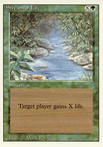 Magic: The Gathering 3rd Edition - Stream of Life - $0.25