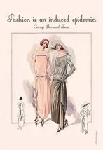 Fashion is an Induced Epidemic by Wilbur Pierce - Art Print - $19.99+