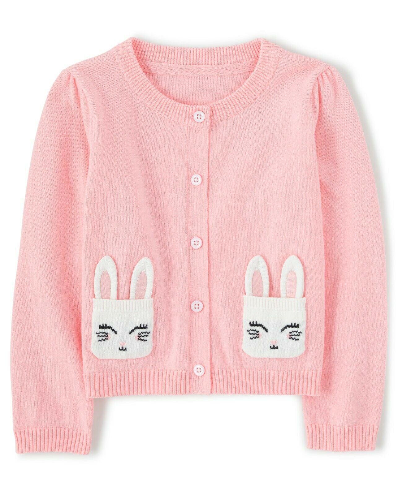 Gymboree Toddler Girls Bunny Rabbit Sweater Cardigan 18-24 Months NWT - $12.99