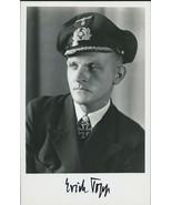 Erich Topp signed photo. Superb!! U-552 Red Devil Boat. WWII Germany. U-Boat. - $56.01 CAD