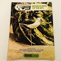 EZ Play Music Book Movie Songs Of The 30s Organ Piano Guitar Vol 76 HL00... - $7.92