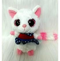 "6"" Yoohoo & Friends Pink White Americana Plush Toy Red White Blue Stars B81 - $9.99"