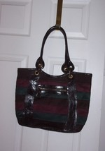Nine West Faux Suede and Leather Shoulder Bag - $25.00