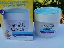 OLAY NATURAL WHITE Light,Night, whitening cream- B3,Pro -B5,E 50g. - $20.50