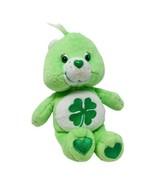 """Care Bear Plush Good Luck Bear 8"""" Plush Shamrock Irish 2002 Green Stuffed Toy  - £9.44 GBP"""
