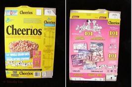 General Mills Cheerios Cereal Box Flat 101 Dalmatians - $16.99