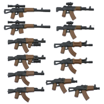 Custom Minifigures Military Army Guns Weapons Compatible w/ Lego Sets Mi... - $7.99