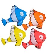 Rhode Island Novelty Colorful Inflatable Clownfish 24 Inch / Party Favor... - $21.83