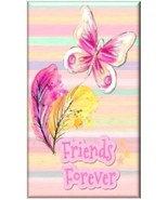 FRIENDS FOREVER Butterfly Refrigerator Magnet #2 | MADE IN USA - $1.99+