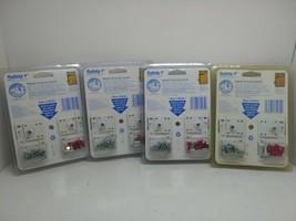 Lot of 16 Locks Tot-Lok Magnetic Cabinet & Drawer Lock Kits Brand New - $29.99