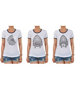 Animals Wear Headdress Printed 100% Cotton Short Sleeves T-shirt WTS_06 - $15.99