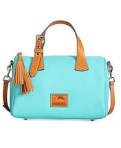 Dooney & Bourke Kendra Leather Satchel (Calypso) - $289.10