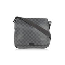 Authentic LOUIS VUITTON Damier Graphite DISTRICT MM Messenger Bag - $1,039.50