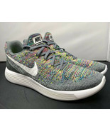 Nike LunarEpic Low Flyknit 2 Running Shoe Cool Grey 863780-003 Womens Si... - $107.91