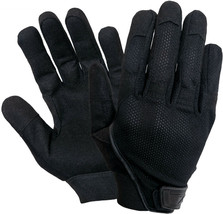 Black All Purpose Touch Screen Lightweight Mesh Tactical Combat Glove - $16.99