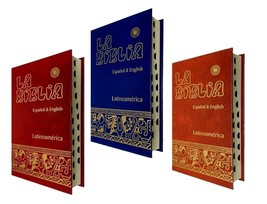 Biblia Bilingue Ingles/Español -Bilingual Bible English/Spanish Catholic... - $31.95