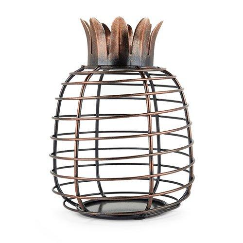 Cork Wine Holder, Juicy Pineapple Tabletop Decorative Metal Rustic Cork Holders
