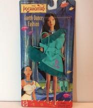 Pocahontas Earth Dance Fashion Dress Outfit Doll Disney Mattel Green Rac... - $12.97