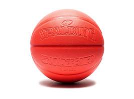 Undefeated x Spalding Limited Edition Infrared Basketball Red 360 Rare U... - $183.15