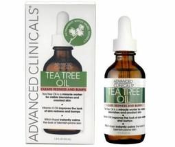 ADVANCED CLINICALS TEA TREE OIL CLEARS REDNESS & BUMPS 1.8 Fl.Oz / 53ml - $13.85