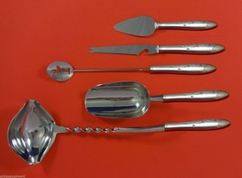Celeste by Gorham Sterling Silver Cocktail Party Bar Serving Set 5pc Custom Made - $339.00