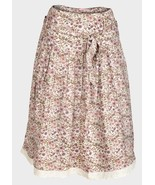 LC Waikki Ladies Pink Floral Summer Skirt Lace Trimmed 8, 10, 12, 14,16 NEW - $6.14