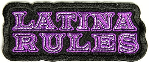 Latina Rules Patch - 3.5x1.5 inch
