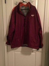 Red Oak SportsWear Men's Virginia Tech Hokies Lined Jacket NCAA Coat Sz XXL  - $128.93