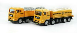Bandi Toys Construction Heavy Equipment Vehicle Car Crane Dump Truck Toy Set image 4