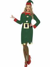 Disfraz de Duende, Disfraz de Navidad, Talla UK 16-18 - $29.88