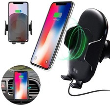 C10 Infrared Automatic Car Air Vent Phone Holder Charger image 6