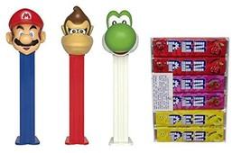 Pez Nintendo Super Mario Dispensers and Candy Refill Bundle (3 Dispenser... - $18.80