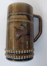Irish Porcelain Beer Mug Stein with Flying Ducks - $13.99