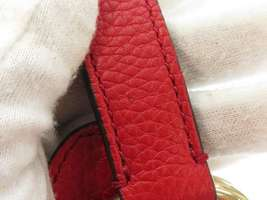 GUCCI Shoulder Bag Leather Red 2Way Soho Interlocking G 536194 Italy Authentic image 6