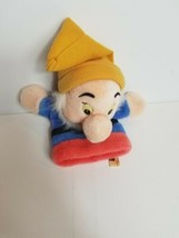 Snow White And The Seven Dwarfs Vintage Hand Puppet Puppety Disney Rare ... - $29.39