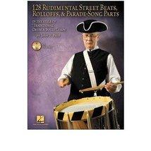 128 Rudimental Street Beats Book/CD [Sheet music] - $17.55