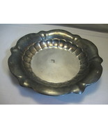 Silver Plate Vegetable Bowl Plate Scallop Rim Large Fruit Gorham  YC764 - $9.95