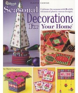 Seasonal Decorations for Your Home, Plastic Canvas Pattern Booklet TNS 8... - $3.95