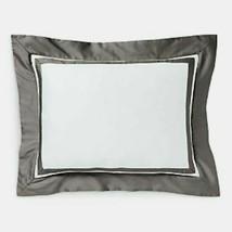 "Ralph Lauren Bowery Sateen Throw Pillow in Metro Grey 12"" x 16""  retail ... - $67.88"