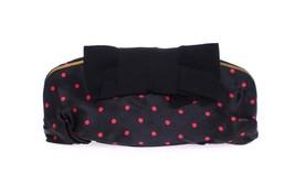 Dolce & Gabbana Black polka dotted silk clutch - $482.85